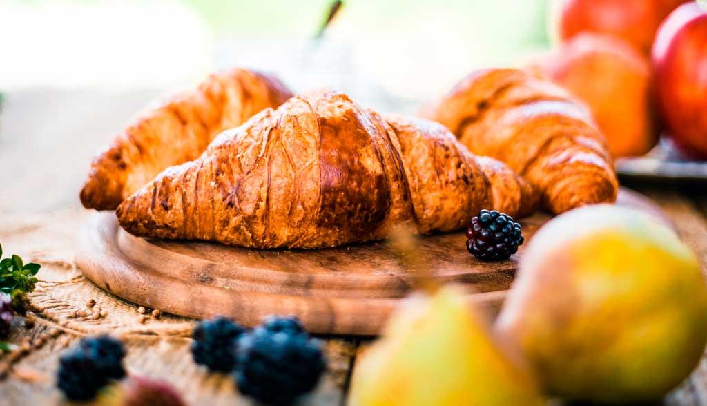 Croissants façon vegan La Borie bio horizontaux