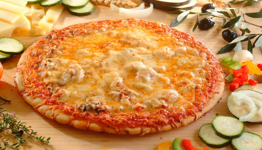 Pizza aux légumes du soleil La Borie Bio horizontale