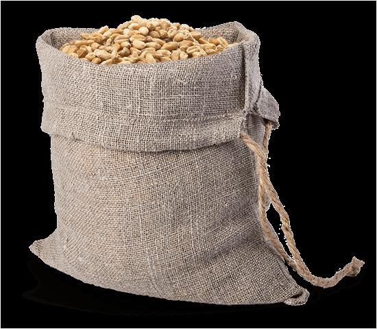 Toile de jute et blé