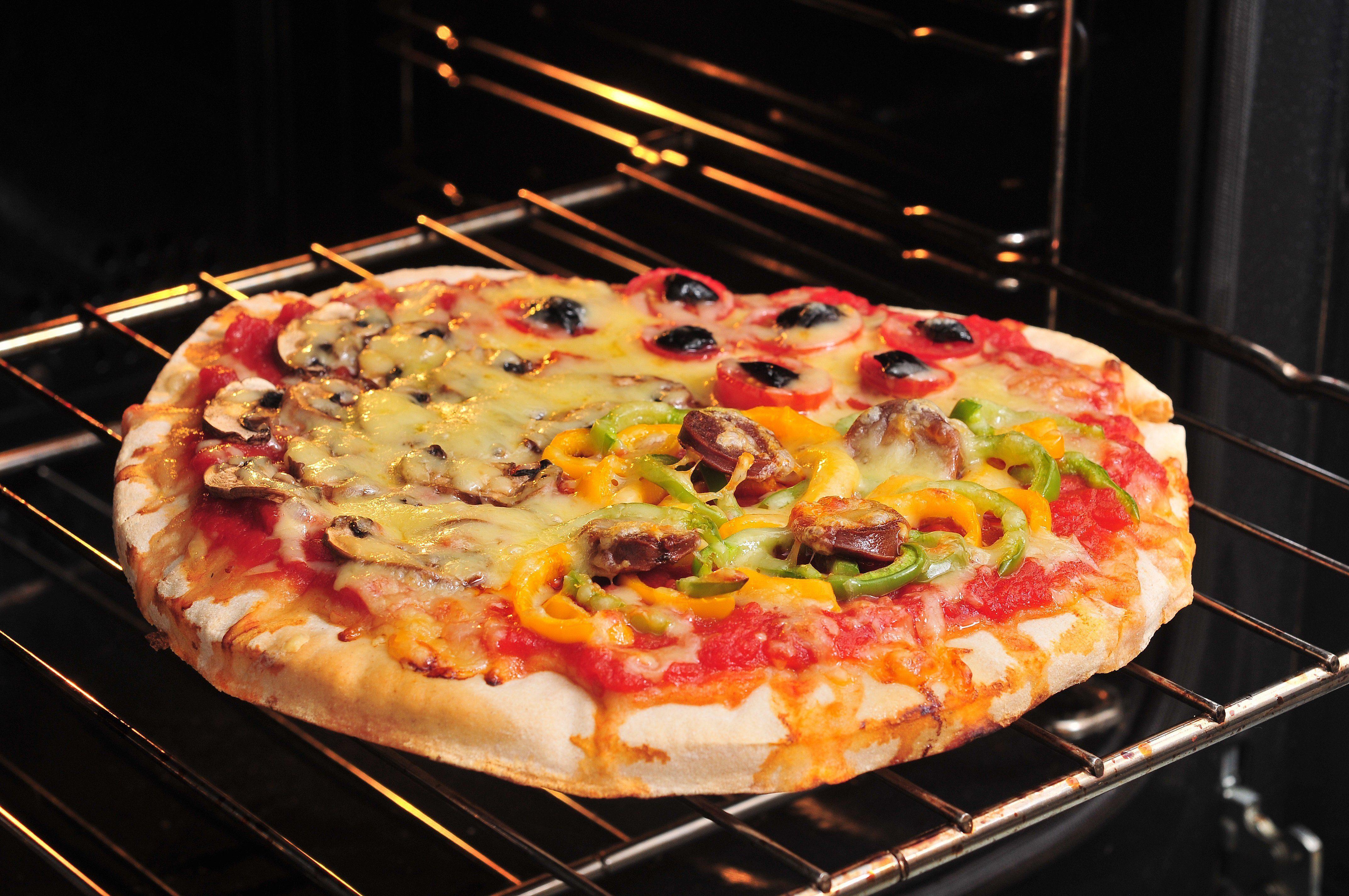 Pizza salée