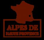 Carte de France alpes de Haute Provence